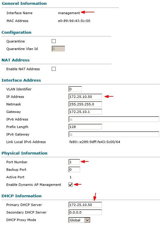 Hướng dẫn cấu hình thiết bị CISCO Wireless LAN Controller