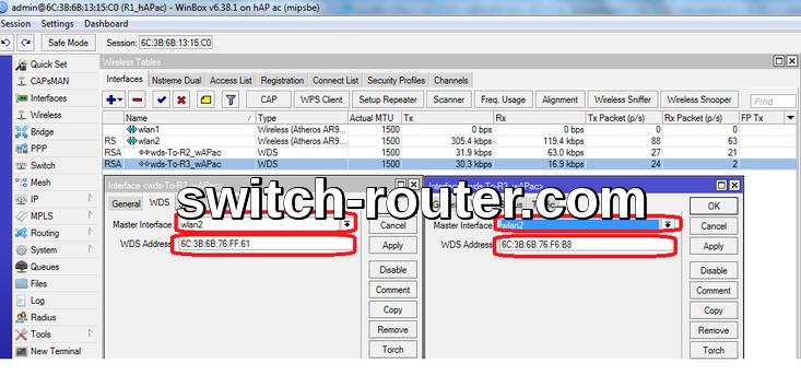 Cấu hình Wireless Mesh với MikroTik Access Points