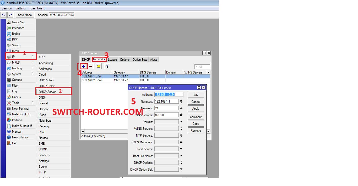 Cu Hnh Pppoe Trn Mikrotik Routerboard Rb1100ahx2 Qua Tab Leases Kim Tra Xem Ip C Cp Cha