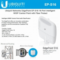 Ubiquiti EdgePoint Switch 16 port (EP-S16)