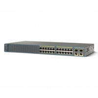 Catalyst 2960 Plus 24 10/100 + 2 T/SFP LAN Lite (WS-C2960-24TC-S)